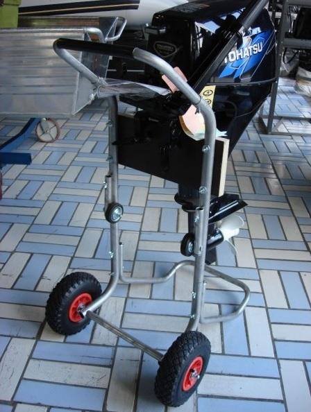 тележка для мотора из транцевых колес