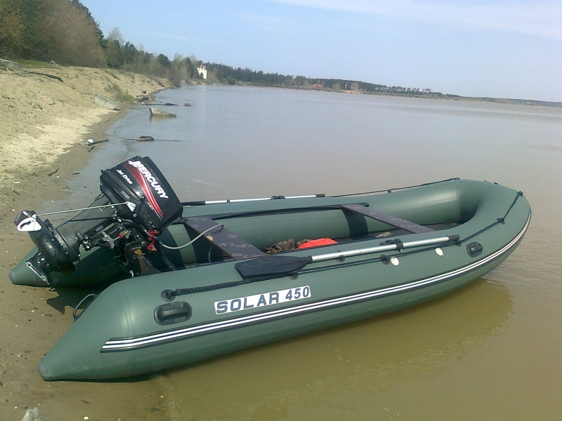 надувная лодка для подвесного водомета